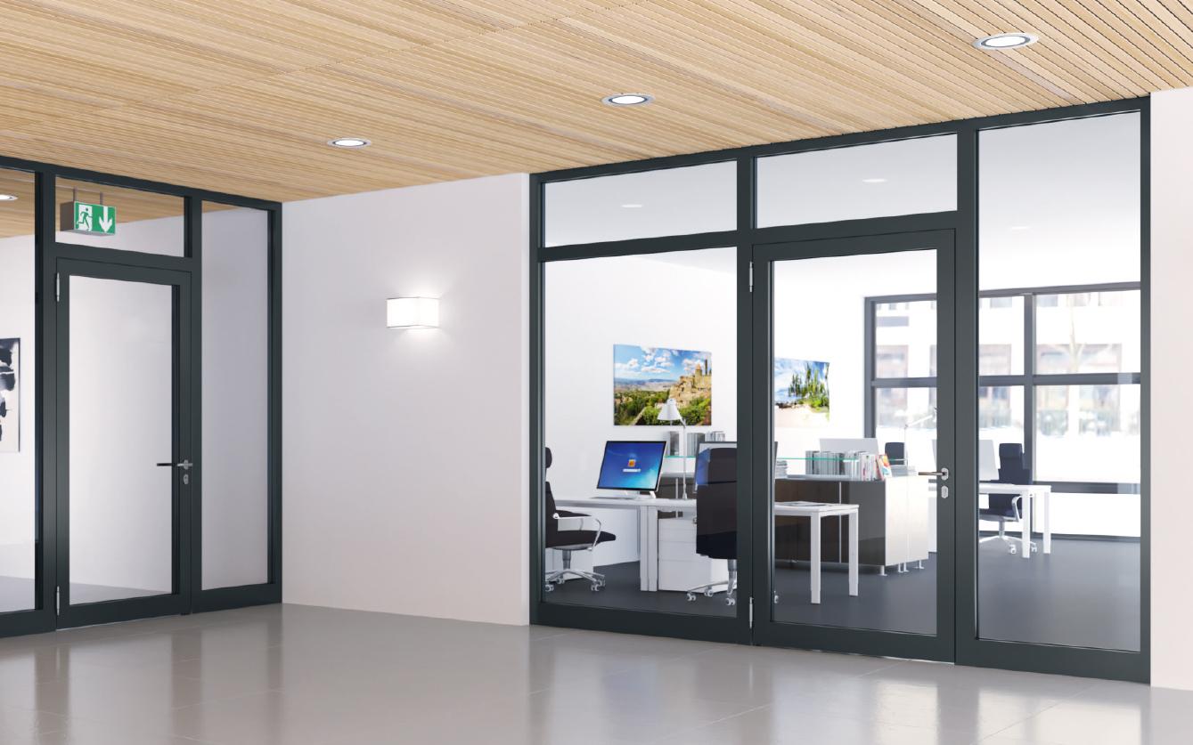 DeKa Raumteilende Elemente für Innenanwendungen